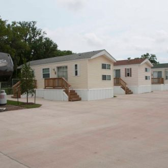 Brazoria Lakes RV Resort park models