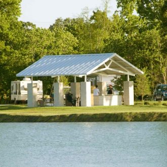 Northlake RV Resort BBQ Pavillion