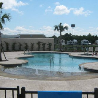 Eastlake RV Resort pool & spa