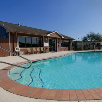 All Star RV Resort Pool House & Pool