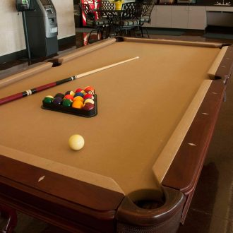 Brazoria Lakes RV Resort pool table