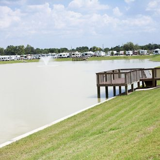 WestLake RV Resort fishing piers